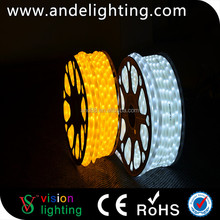 Hot selling outdoor color changing 100m decoration led rope light
