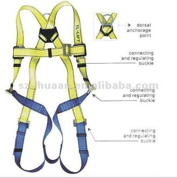 Falling Protection Seat Belt Industrial Safety Belt Safety