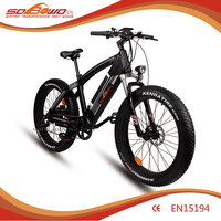 SOBOWO Q7 pretty but cheap 26 inch fat tire mountain ebike