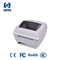 32bit RISC CPU 102mm barcode & label printer with 102mm printing speed hs-g42d