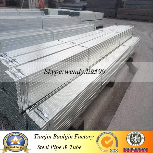 Hot dip and pre galvanized hollow section steel tube buy