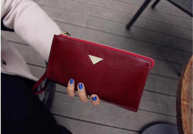 China Supplier Latest Design Ladies Purse Women Leather Wallet