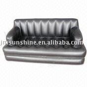 pvc Square inflatable sofa bed