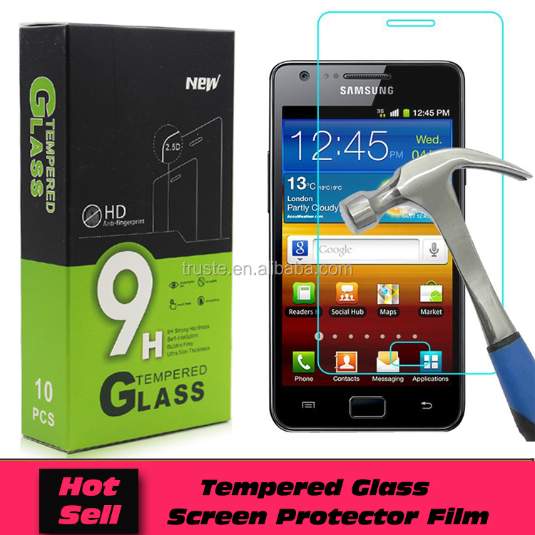 For Samsung Galaxy S2 I9100 Tempered Glass Screen Protector Have Stock Paypal Accepted