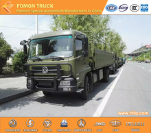 DONGFENG Tianjin 4X4 210hp RHD 7-8tons off-road militiaman troop carrier camion
