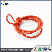Good quality transparent/clear colored silicone rubber washer AS568
