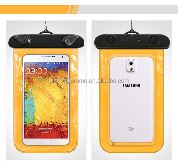 cheap full cover pvc waterproof cell phone case , phone bag waterproof