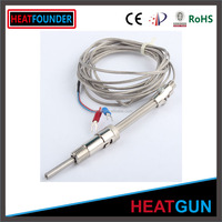 J TYPE ADJUSTABLE COMPRESSED SPRING DOUBLE BAYONET THERMOCOUPLE