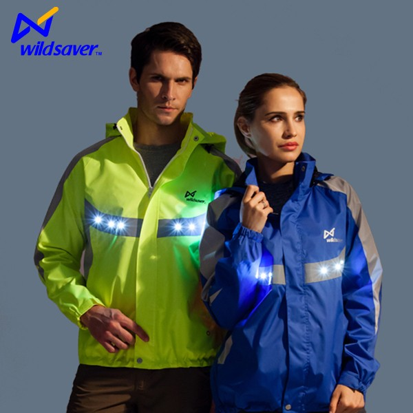 Safety New Model LED light sports jacket for men and women
