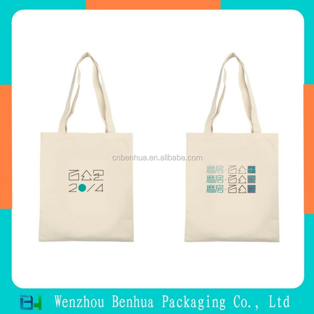 Customized Cotton Canvas Promotional Tote Bag