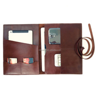 Wholesale Cheap Price Good Quality Handmade Leather File Folder
