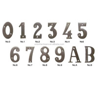 European style Stainless Steel Door House Number