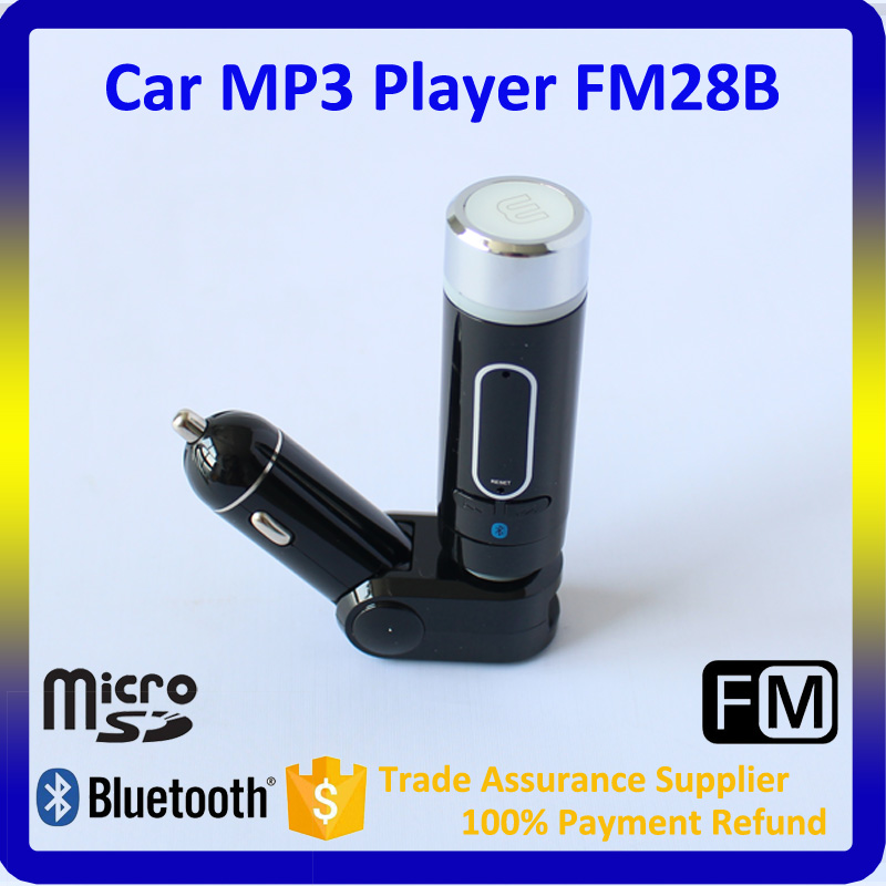 Detachable Car FM Modulator FM28B Car MP3 Player with Bluetooth