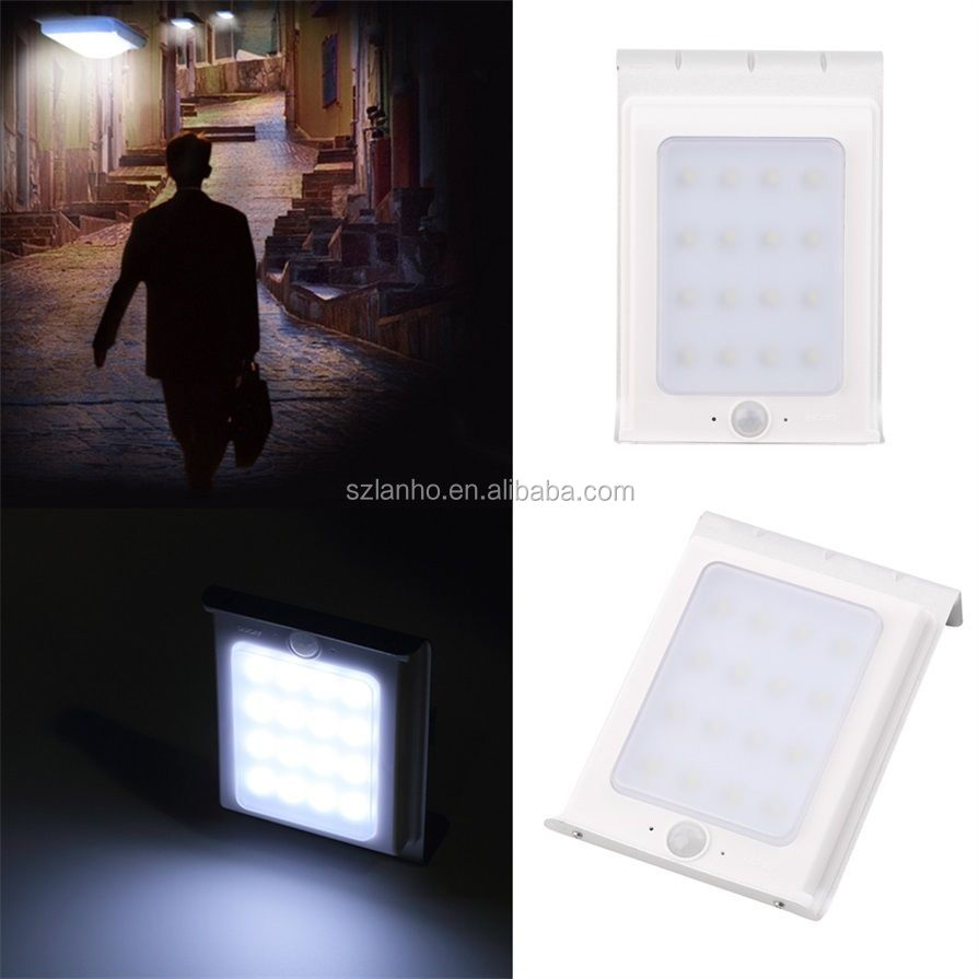 2016 new 16 LED Solar Powered Motion Sensor Security Outdoor Light