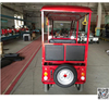 80km mileage open body electric tricycle rickshaw with passenger seat 6 seats