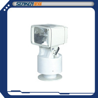 roof-mounted rotary search light of pan-tilt and site scan