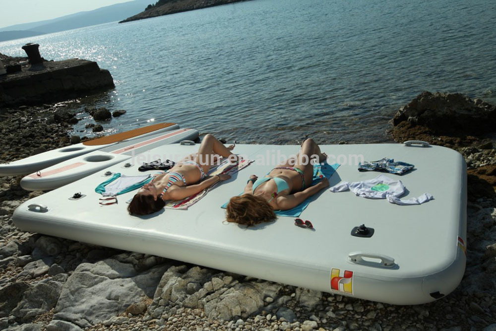 Wholesale inflatable gymnastics mat for water sports