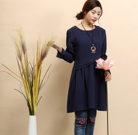 2017 High Quality Spring Autumn Long Sleeve New Model Girl Dress