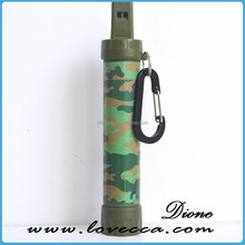 Life survival emergency straw military use plastic reuable replacement drinking straw