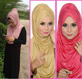 ONE PIECE muslim AL-AMIRAH PLEATED HIJAB SCARF instant shawl JLS105