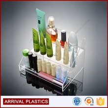 3 Tier Organizer Clear Acrylic Nail Polish Display Stand Rack