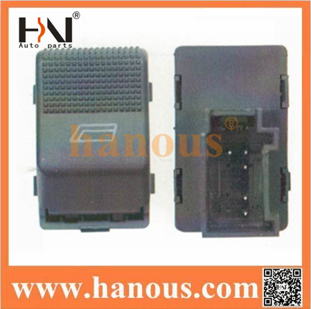 Electrical Power Window Button 5-Pin Switch for Polo 6X0 959 855B or 6X0959855B