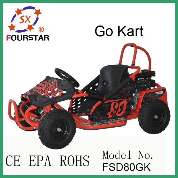 electric differential go kart