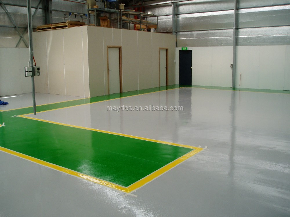 Maydos dustfree heavy duty liquid epoxy for concrete floor coating