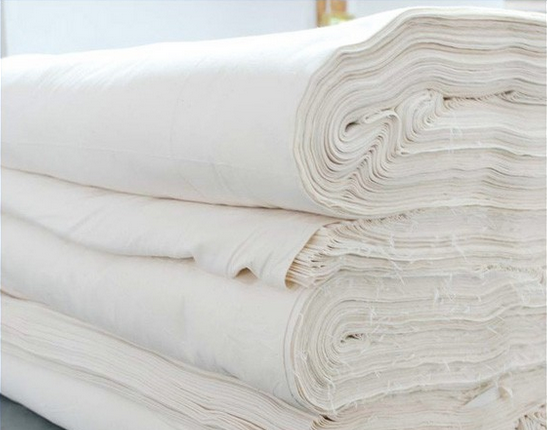 high quality 100% cotton textile industry raw material woven fabric for sale