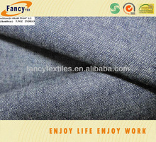 100pct cotton indigo chambrary jeans fabric for skirt and shirt