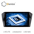 Ownice C500+ 10inch 8core 32GB ROM Android 6.0 Automotive Player for Magotan 2017 support TPMS DTV DAB OBD