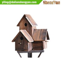 Carbonized treated decorative bird cages cheap