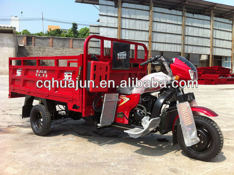 heavy duty cargo 3wheel motor tricycle/ triciclo/ motor bike chongqing gold supplier