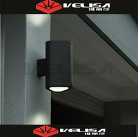 Made in china ip65 12W led outdoor wall lights surface mounted/ led outdoor wall lamp up and down