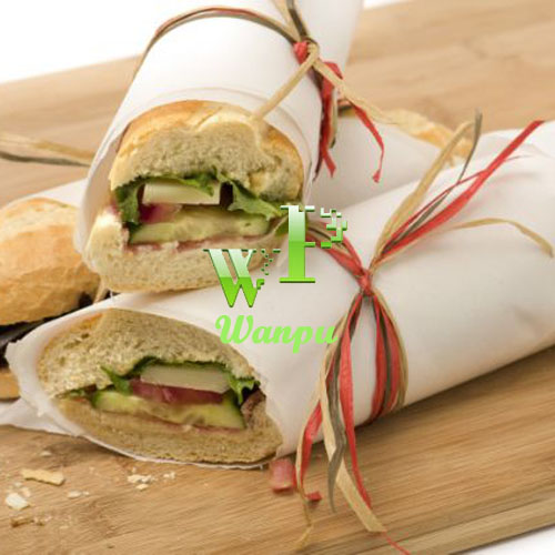 heat resistance food wrapping paper baking paper vegetable silicone parchment paper
