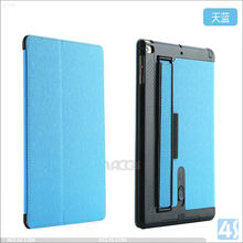 2015 new arrival tablet cover for ipad air 2 genuine leather case