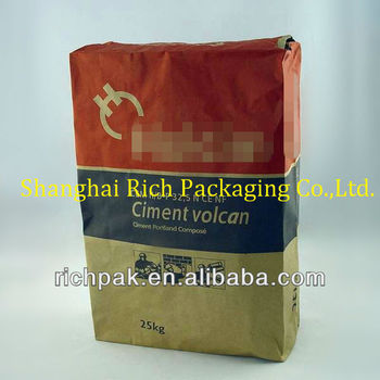 2017 Cement/chemical/Mortar sack kraft paper bag