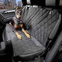 Car Pet Seat Covers Waterproof Back Bench Seat 600D Oxford Cars Interior Travel Accessories Dog Car Seat Cover