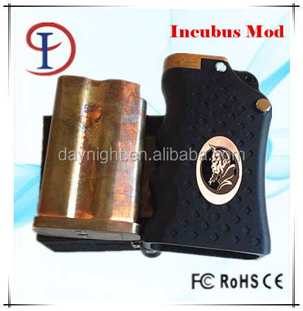 2015 Incubus Mod From EL DIablo Philipine Mechanical Box Mod Clone Incubus Box Mod Clone by Delighttech