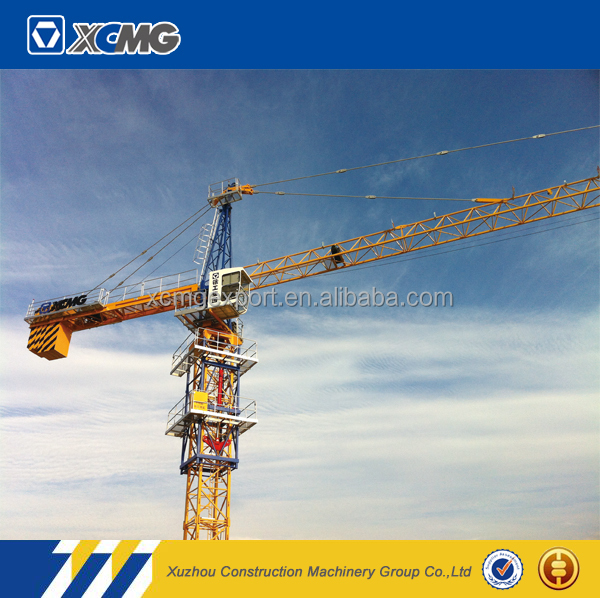 XCMG official manufacturer used QTZ100(6012-6) travelling luffing jib tower crane