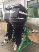 used 2 stroke 200hp outboard engine
