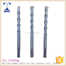 SDS Hammer Drill Bit for Concrete, Drill Bit, Dia 14X260mm