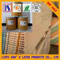 water-based adhesive for PVC film onto paper gypsum board/plasterboard