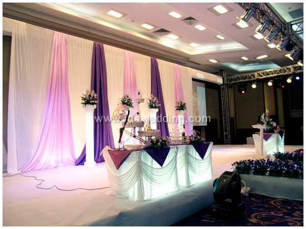 IDA Wholesale wedding backdrop design curtain stand wedding