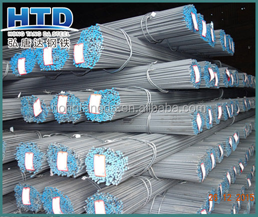 building construction ASTM Gr60 deformed steel rebar/ rebar steel price