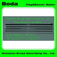 Good quality serviceable custom indoor flag pole