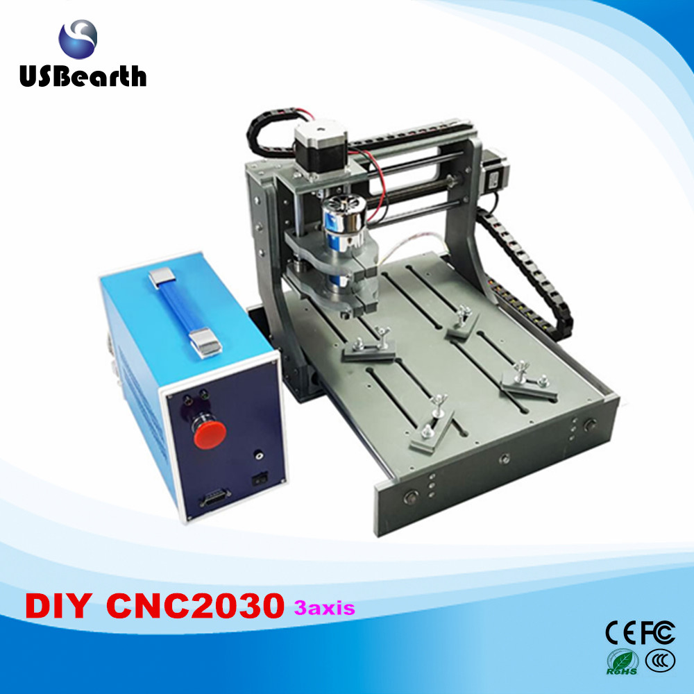 Cheap 2 in 1 USB PORT cnc Engraving machine 2030 3axis mini cnc router 3020