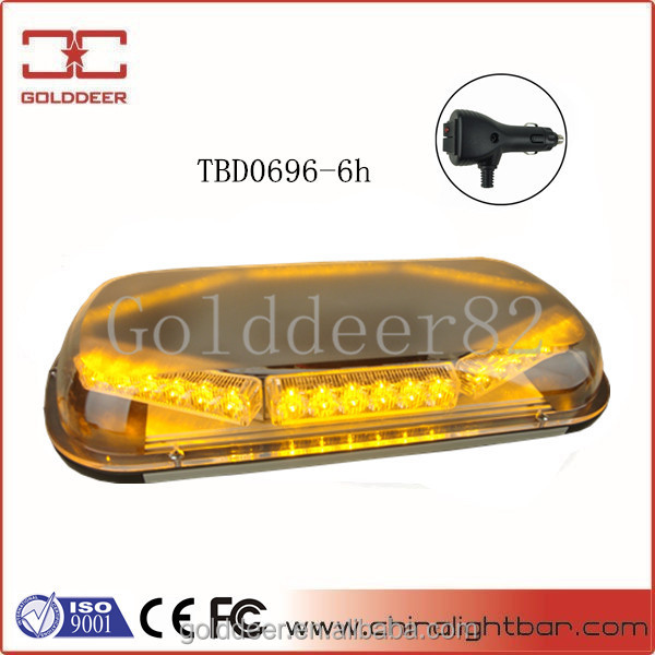 EMS Super Slim Car Roof Amber Light Bar for Security Car