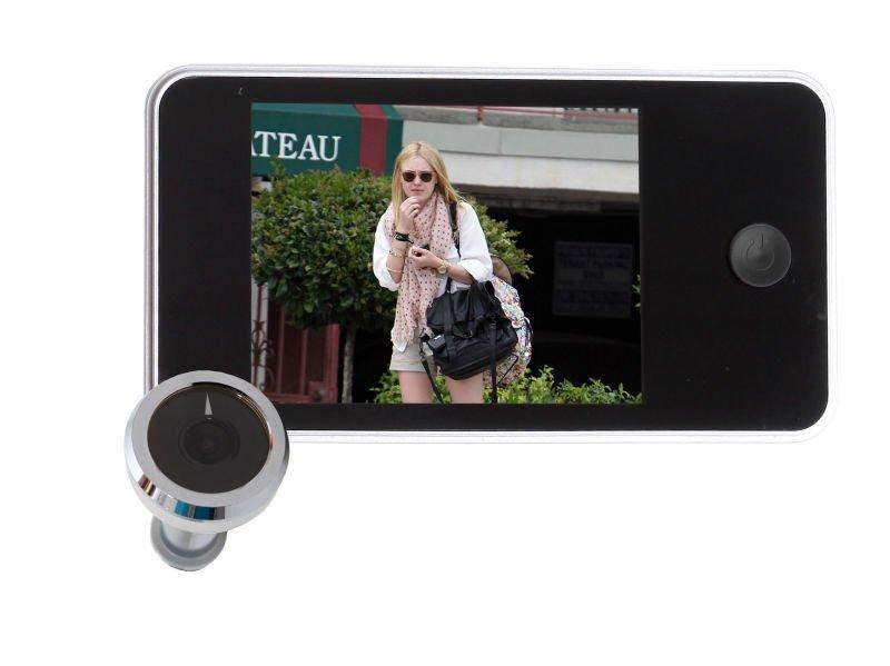 Mirilla digital puerta visor de 160 grados miradores para - Mirilla puerta digital ...