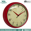 10 inch Classic metal decoration wall clock home , a battery wall clock sale